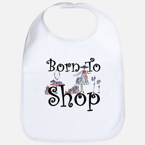 Born to Shop Bib