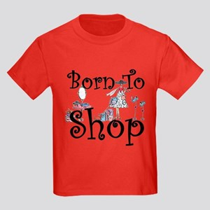 Born to Shop Kids Dark T-Shirt