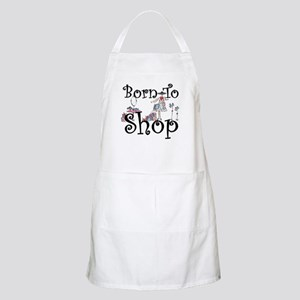Born to Shop BBQ Apron
