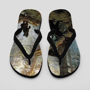 Ivan Shishkin Morning In A Pine Forest Flip Flops