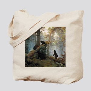 Ivan Shishkin Morning In A Pine Forest Tote Bag