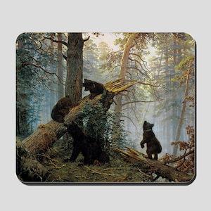 Ivan Shishkin Morning In A Pine Forest Mousepad