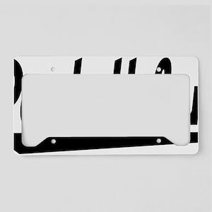 pentathlon License Plate Holder