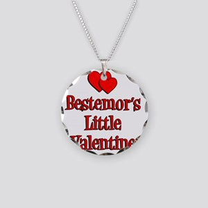 Bestemors Little Valentine Necklace Circle Charm