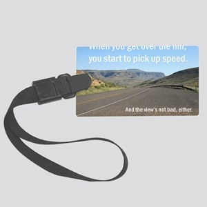 pick up speed copy Large Luggage Tag