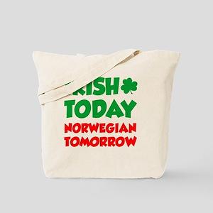 Irish Today Norwegian Tomorrow Tote Bag