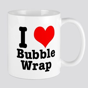 I Heart (Love) Bubble Wrap Mug