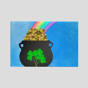 St. Patricks Day Rectangle Magnet