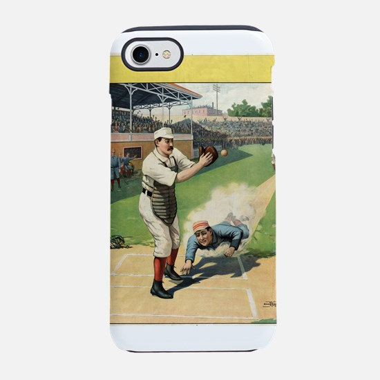 Runner Sliding Past Catcher - anonymous - 1897 - P