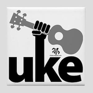 Uke Fist Tile Coaster