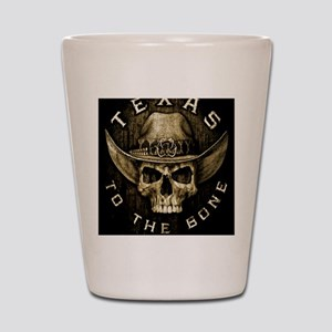 Texas to the bone Shot Glass