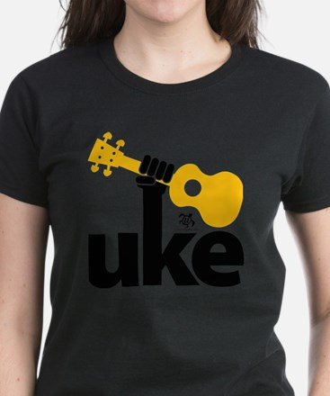 Uke Fist Women's Dark T-Shirt