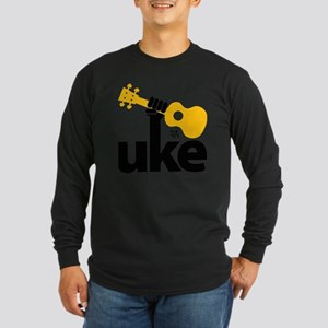 Uke Fist Long Sleeve Dark T-Shirt