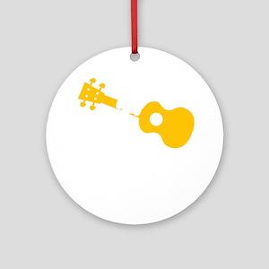 Uke Fist Round Ornament