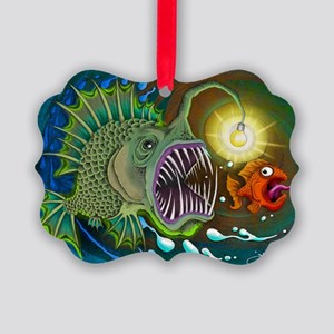 Angler Fish Picture Ornament