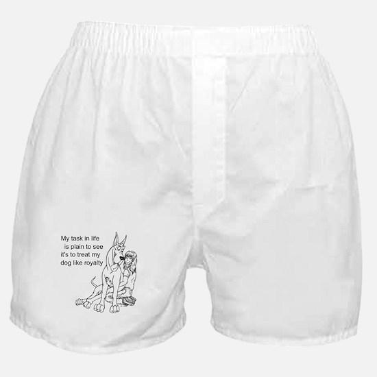 C Dog Royalty Boxer Shorts