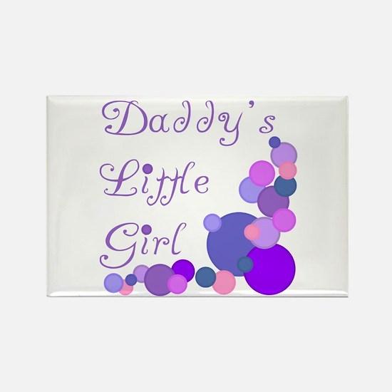 Daddy's Little Girl Rectangle Magnet