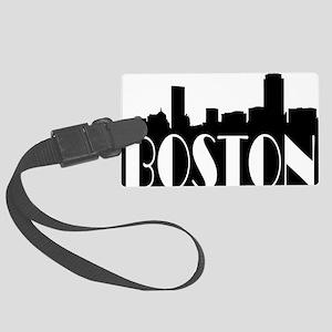 Boston Skyline Large Luggage Tag