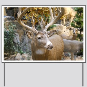 Proud Deer Yard Sign