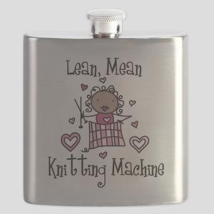 Knitting Machine Flask