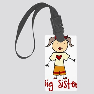 Big Sister Large Luggage Tag