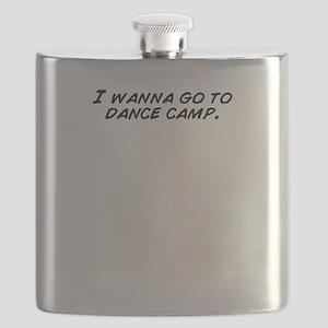 I wanna go to dance camp. Flask