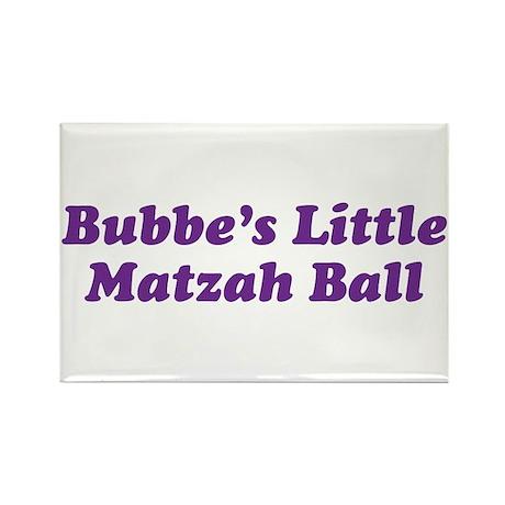 Little Matzah Ball Rectangle Magnet (10 pack)