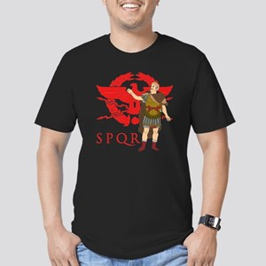 Caesar Men's Fitted T-Shirt (dark)