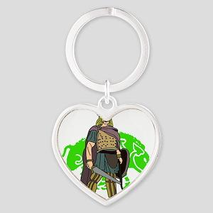 Vercingetorix Heart Keychain