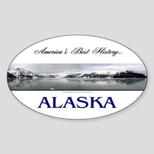 Alaska Americasbesthistory.com Sticker (Oval)