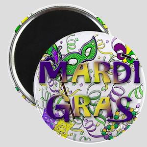 MARDI GRAS Magnet