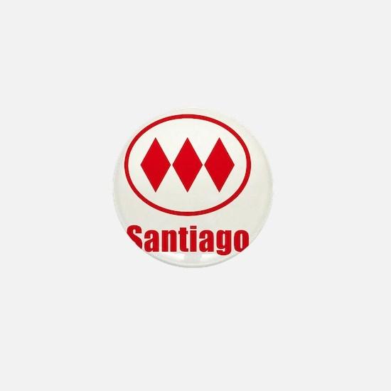 Santiago Metro Mini Button