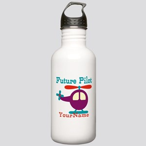 Future Pilot - Personalized Stainless Water Bottle