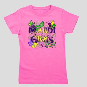 MARDI GRAS Girl's Tee