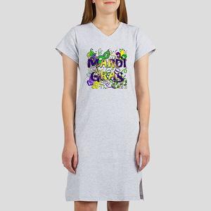 MARDI GRAS Women's Nightshirt