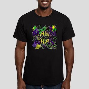 MARDI GRAS Men's Fitted T-Shirt (dark)