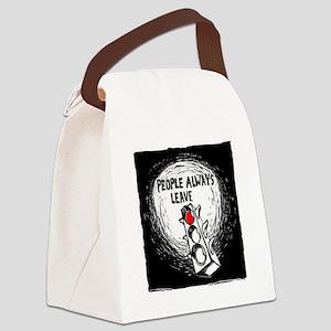 Tous le monde meurt un jour (Peop Canvas Lunch Bag