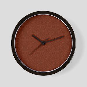 plain rust  Wall Clock