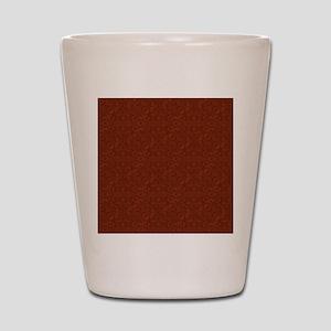 plain rust  Shot Glass