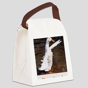 Bye, Bye Duck Canvas Lunch Bag