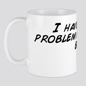 I have a real problem with bacon bits Mug