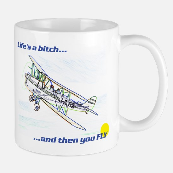 Fly! Tiger Moth. Mug