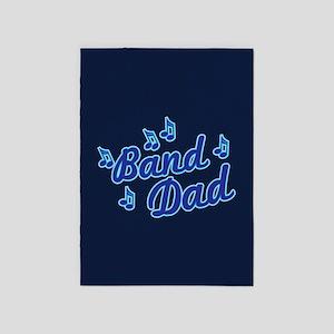 Band Dad 5'x7'Area Rug