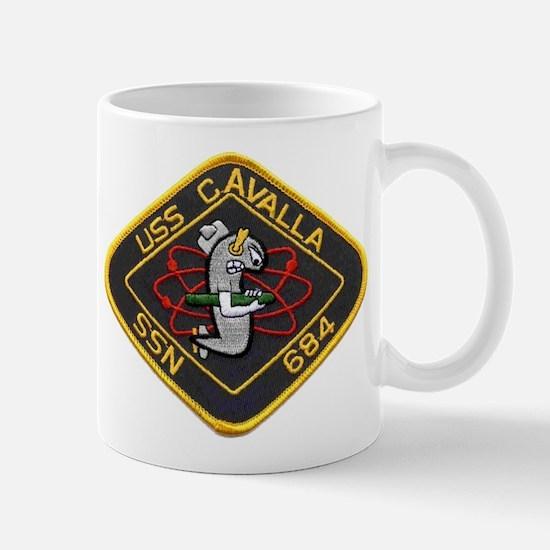 USS CAVALLA Mug