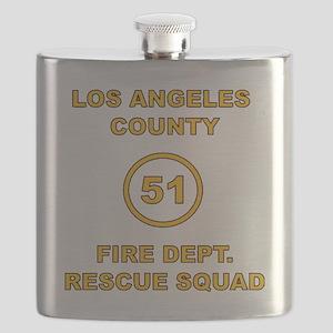 LA County 51 Flask