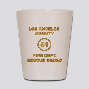 LA County 51 Shot Glass