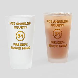 LA County 51 Drinking Glass