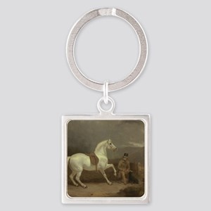 On the Hunt Square Keychain