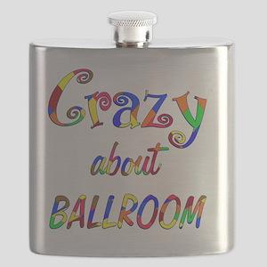 Crazy About Ballroom Flask