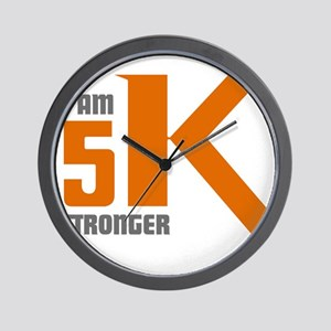 5K Stronger Wall Clock